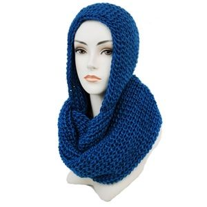 ✨Coming Soon✨ Blue Hooded Scarf